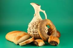 κανάτα ψωμιού Στοκ Εικόνα