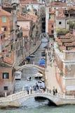 Κανάλια, Βενετία, Ιταλία Στοκ εικόνα με δικαίωμα ελεύθερης χρήσης