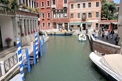 Κανάλια, Βενετία, Ιταλία Στοκ Εικόνα