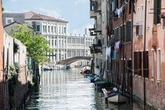 κανάλια Βενετία του Στοκ φωτογραφίες με δικαίωμα ελεύθερης χρήσης