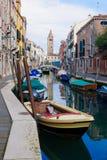 Κανάλια, Βενετία Στοκ φωτογραφίες με δικαίωμα ελεύθερης χρήσης