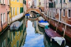 Κανάλια, Βενετία Στοκ φωτογραφία με δικαίωμα ελεύθερης χρήσης
