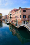 Κανάλια, Βενετία Στοκ εικόνες με δικαίωμα ελεύθερης χρήσης
