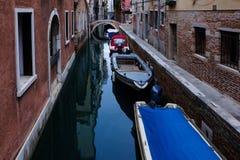 Κανάλια, Βενετία Στοκ εικόνα με δικαίωμα ελεύθερης χρήσης