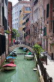 κανάλια Βενετία Στοκ Εικόνες