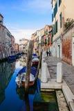 Κανάλια, Βενετία Στοκ Φωτογραφία