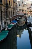 κανάλια Ιταλία Βενετία Στοκ φωτογραφίες με δικαίωμα ελεύθερης χρήσης