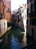 κανάλια Ιταλία Βενετία Στοκ εικόνα με δικαίωμα ελεύθερης χρήσης