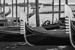 Κανάλια, κτήρια, και βάρκες της Βενετίας στοκ φωτογραφίες