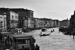 Κανάλια, κτήρια, και βάρκες της Βενετίας Στοκ Εικόνα