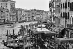 Κανάλια, κτήρια, και βάρκες της Βενετίας Στοκ εικόνα με δικαίωμα ελεύθερης χρήσης