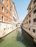 Κανάλια της Βενετίας Στοκ φωτογραφίες με δικαίωμα ελεύθερης χρήσης