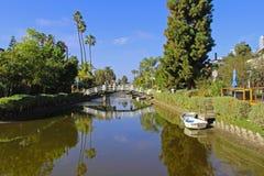 Κανάλια της Βενετίας στοκ εικόνες