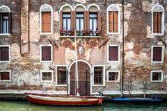 Κανάλια της Βενετίας Στοκ Φωτογραφία