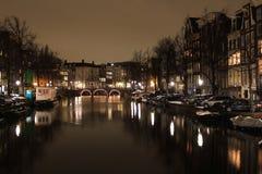 Κανάλια του Άμστερνταμ Στοκ εικόνες με δικαίωμα ελεύθερης χρήσης
