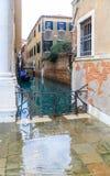 κανάλι Βενετία Ιταλία Στοκ φωτογραφίες με δικαίωμα ελεύθερης χρήσης