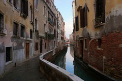 κανάλι Βενετία Στοκ Φωτογραφίες
