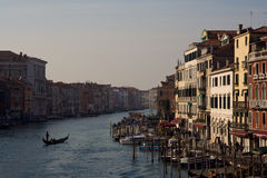 κανάλι μεγάλη Βενετία Στοκ φωτογραφίες με δικαίωμα ελεύθερης χρήσης