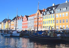Κανάλι στην Κοπεγχάγη στοκ εικόνα με δικαίωμα ελεύθερης χρήσης