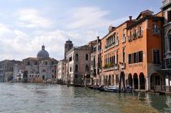 Κανάλι στη Βενετία, Ιταλία Στοκ Φωτογραφίες
