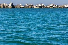 Κανάλι στη θάλασσα της Βαλτικής Στοκ φωτογραφία με δικαίωμα ελεύθερης χρήσης