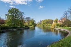 Κανάλι στο Μάλμοε Στοκ εικόνες με δικαίωμα ελεύθερης χρήσης