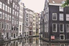 Κανάλι του Άμστερνταμ Στοκ Φωτογραφίες