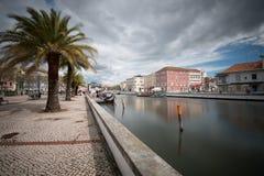 Κανάλι του Αβέιρο - Πορτογαλία Στοκ Φωτογραφία