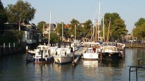 Κανάλι Dordrecht Στοκ Εικόνα
