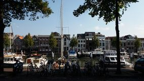 Κανάλι Dordrecht Στοκ Φωτογραφία