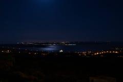 Κανάλι Gozo τή νύχτα Στοκ φωτογραφίες με δικαίωμα ελεύθερης χρήσης