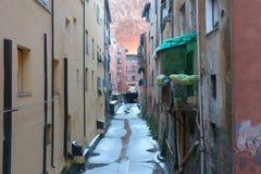 Κανάλι Moline στη Μπολόνια Στοκ εικόνα με δικαίωμα ελεύθερης χρήσης
