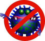 κανένας ιός Στοκ φωτογραφίες με δικαίωμα ελεύθερης χρήσης