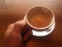 Κανένας καφές, φλιτζάνια του καφέ Στοκ Εικόνες