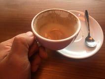 Κανένας καφές, φλιτζάνια του καφέ Στοκ φωτογραφίες με δικαίωμα ελεύθερης χρήσης