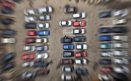 κανένας χώρος στάθμευσης Στοκ Εικόνα
