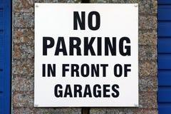 κανένας χώρος στάθμευσης Στοκ εικόνα με δικαίωμα ελεύθερης χρήσης