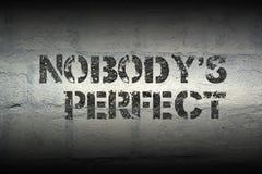 Κανένας ` s τέλεια GR Στοκ Εικόνες
