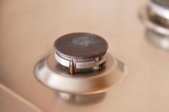 Κανένα αέριο στην κουζίνα δεν καίγεται τον καυστήρα Στοκ φωτογραφία με δικαίωμα ελεύθερης χρήσης
