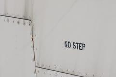 κανένα βήμα Στοκ Φωτογραφίες