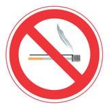 κανένα κάπνισμα σημαδιών Στοκ φωτογραφίες με δικαίωμα ελεύθερης χρήσης