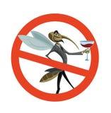 Κανένα κουνούπι Στοκ Εικόνες