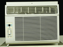 Κανένα κλιματιστικό μηχάνημα παραθύρων btrand στοκ φωτογραφία