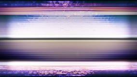 Κανένα σήμα, θόρυβος 0840 TV απόθεμα βίντεο