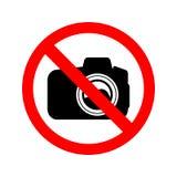 κανένα σημάδι φωτογραφίας Στοκ φωτογραφίες με δικαίωμα ελεύθερης χρήσης