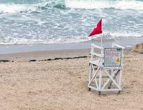 Κανένα Lifeguard στην υπηρεσία Στοκ Εικόνα