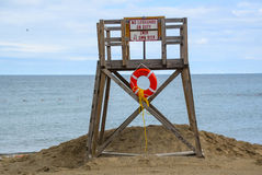 Κανένα Lifeguard Στοκ Εικόνα