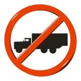 κανένα truck Στοκ φωτογραφίες με δικαίωμα ελεύθερης χρήσης