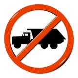 κανένα truck Στοκ εικόνα με δικαίωμα ελεύθερης χρήσης