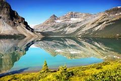 Καναδάς, εθνικό πάρκο Banff, λίμνη τόξων Στοκ φωτογραφία με δικαίωμα ελεύθερης χρήσης